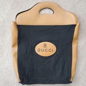 Unisex Vintage Gucci Shopper Tote Shoe Bag